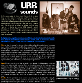 Levantante Interview with Urbsounds