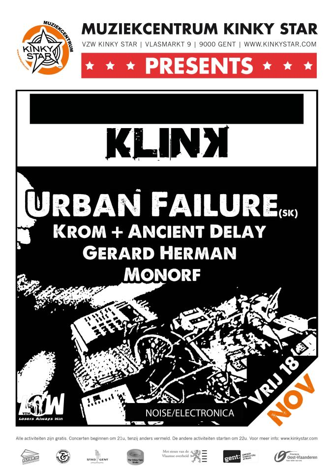 18 – 20 November :: urbanfailure trashin`november