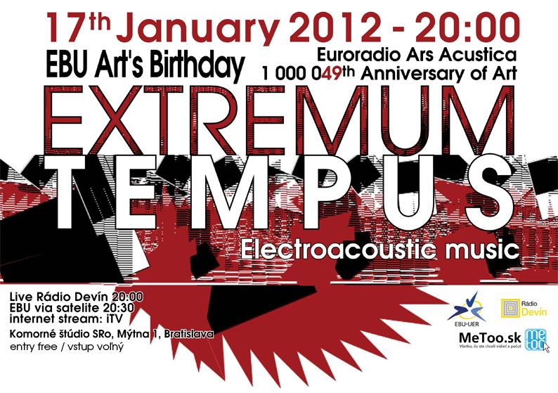 17 January 2012 :: EXTREMUM TEMPUS