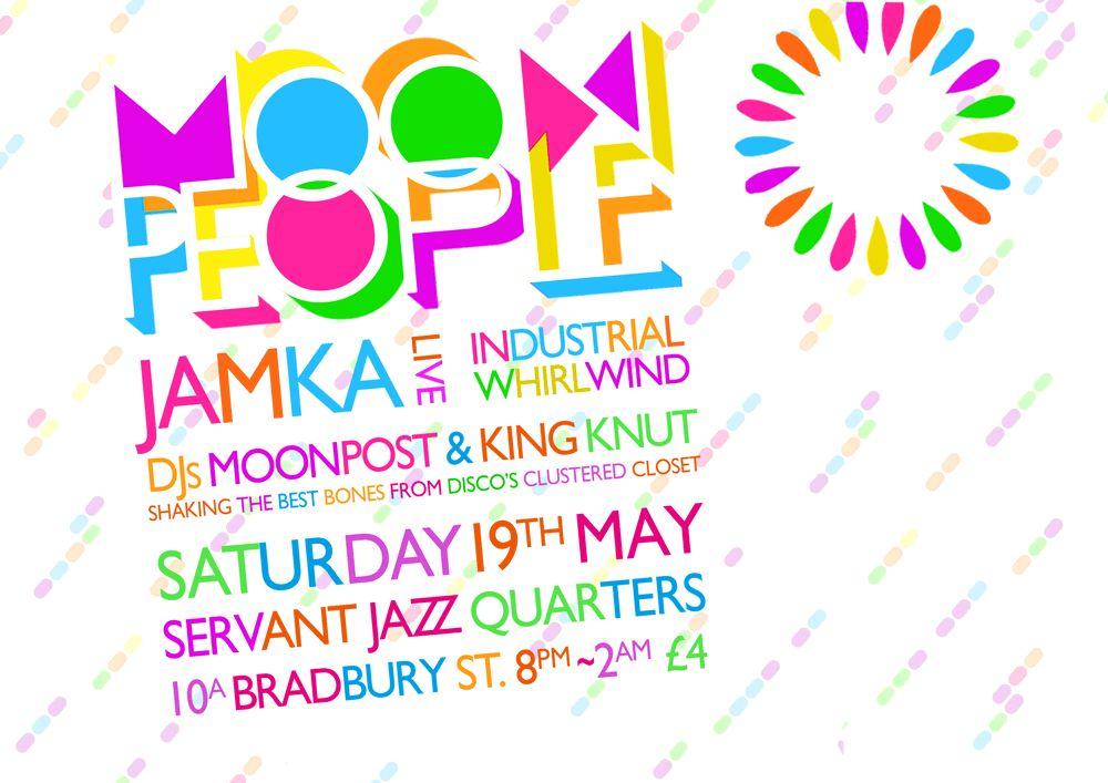 Jamka plays at Moon Disco 19th May 2012 - Dalston