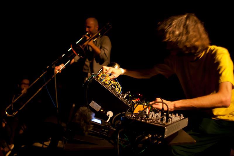 Kordik - Lucas Duo playing at Next Festival
