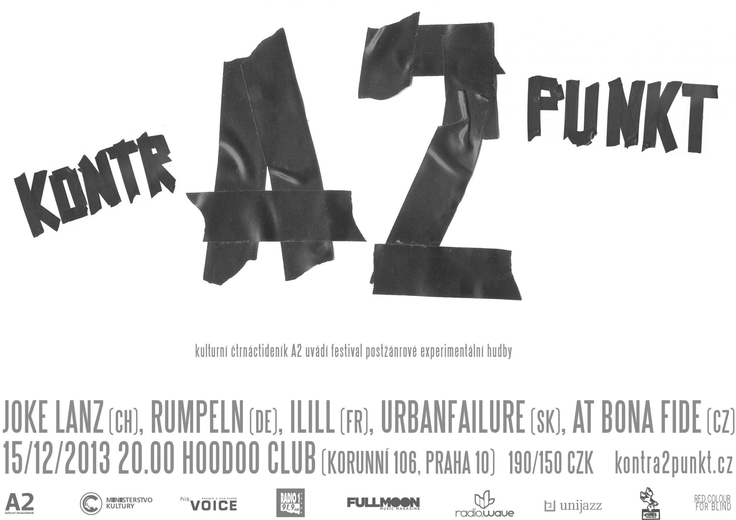 15 December :: KontrA2punkt Festival Praha