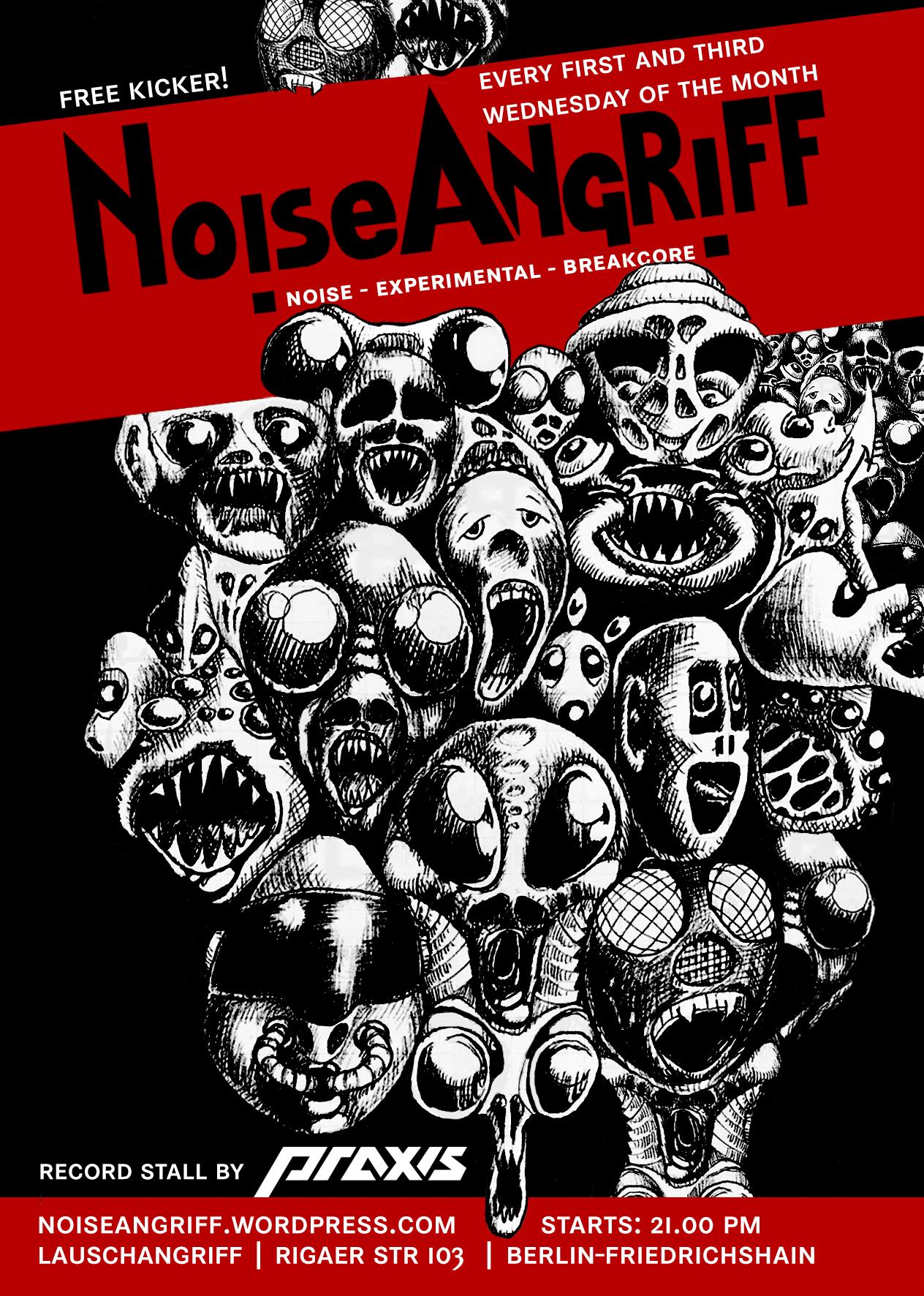 21 :: May :: urbanfailure live in NoiseAngriff Berlin