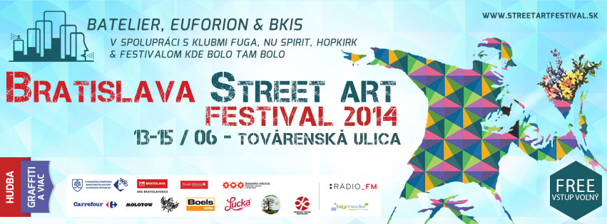 14 Jun :: urbanfailure live on Bratislava Street Art Festival