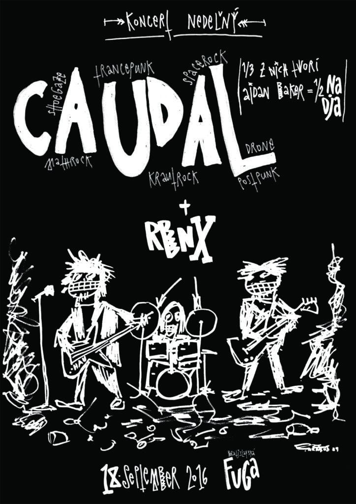rbnx / Caudal live@Fuga20160918