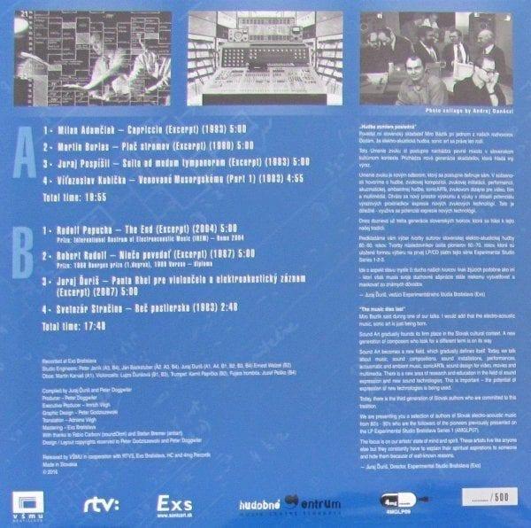 Various – Nová Generácia: Experimental Studio Bratislava
