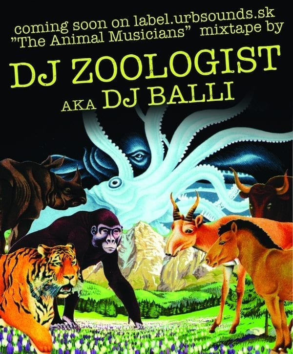 Dj Zoologist – The Animal Musicians