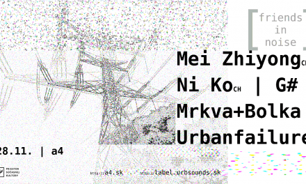 Urbsounds [ / ] friends in Noise