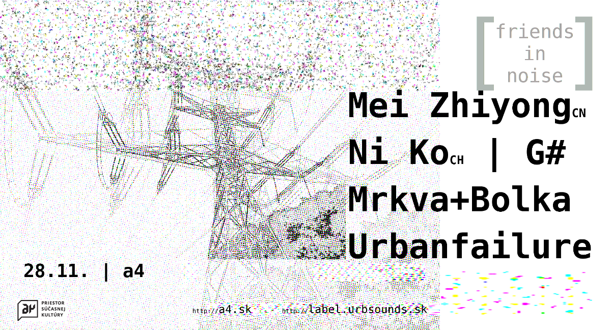 28 November 2017 :: Urbsounds and Friends in Noise