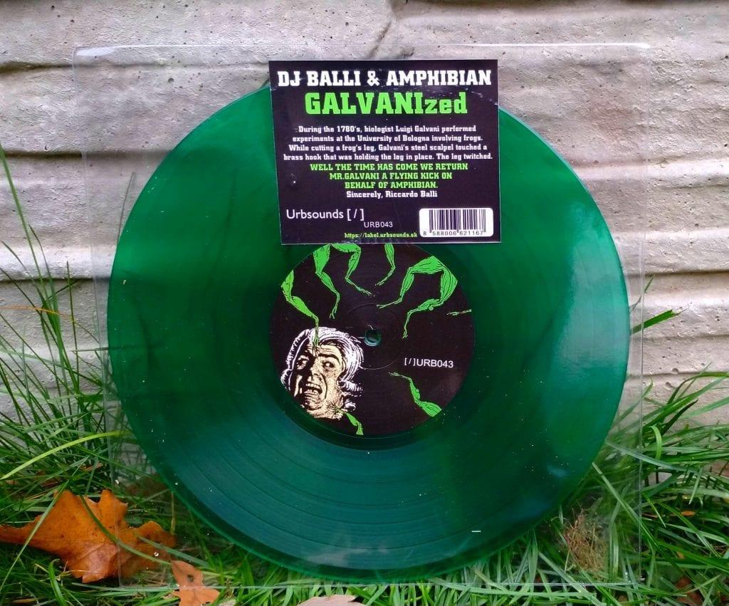 Dj Balli + Amphibian - GALVANIzed