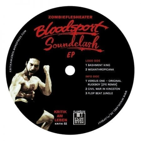 Zombieflesheater ‎– Bloodsport Soundclash EP