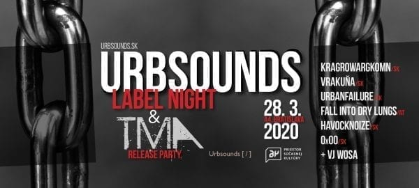 Urbsounds label night