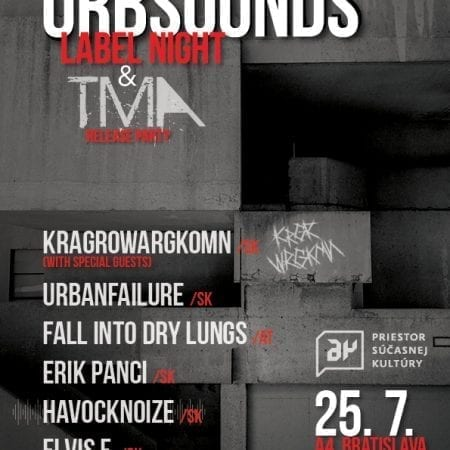Urbsounds label night and TMA release party